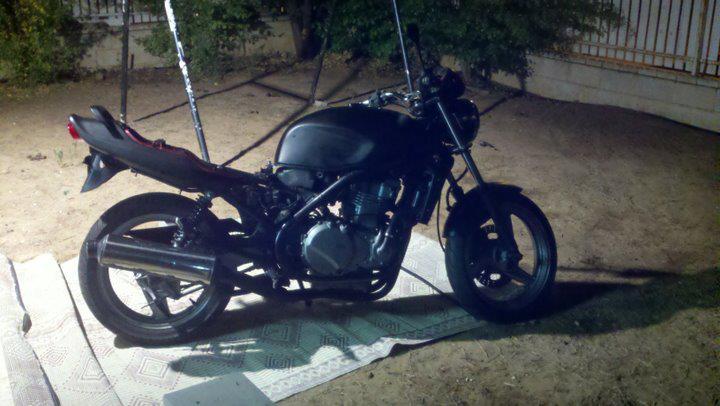 Kawasaki EN500 restoration