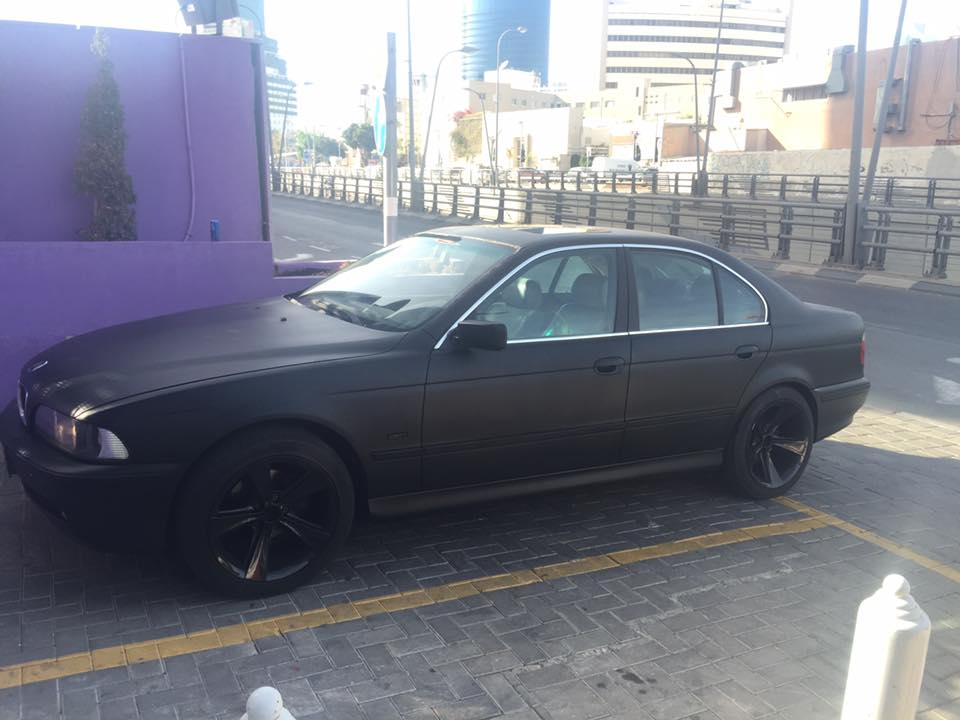 BMW 525 project